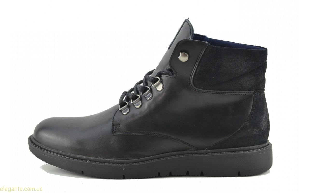Мужские ботинки BECOOL чёрные 0