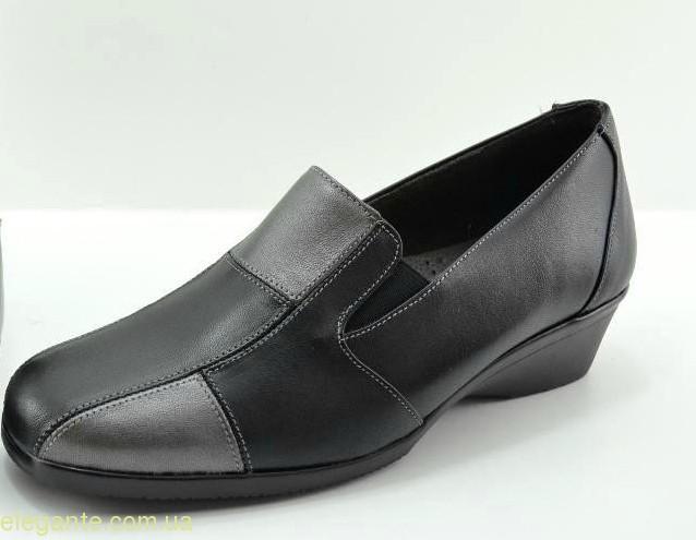 Жіночі туфлі на танкетці DIGO DIGO чорні 0