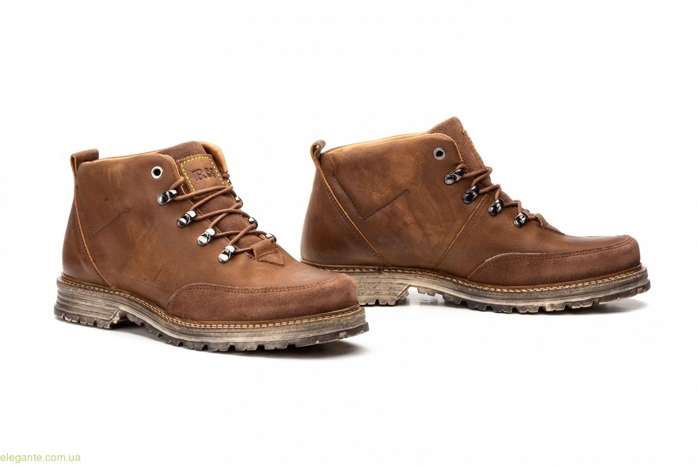 Чоловічі черевики Route 83 коричневі 0