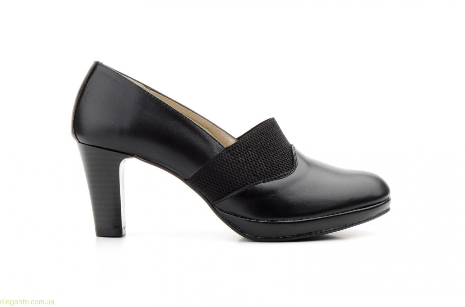 Женские туфли еластические ANNORA чёрные 0