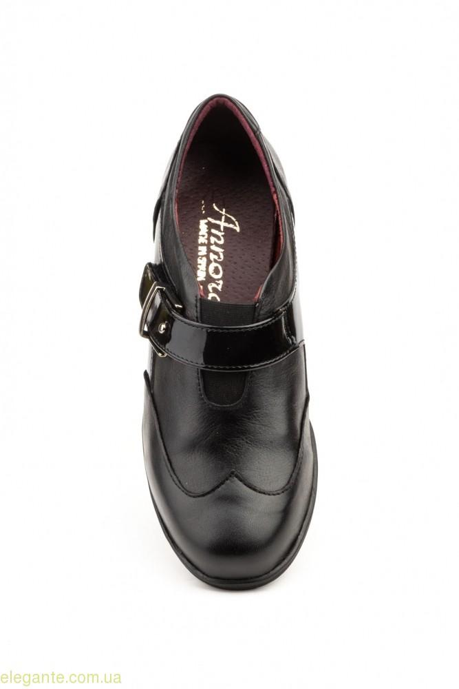 Жіночі туфлі на танкетці ANNORA1 чорні 0