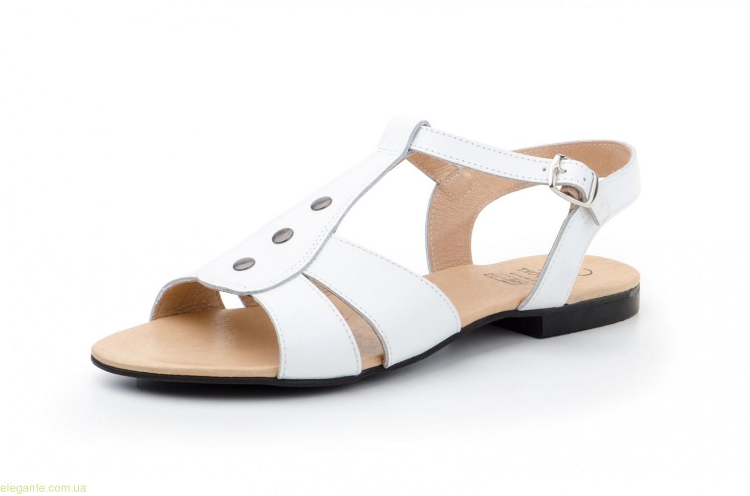 Жіночі босоніжки Bailen xxl білі 0