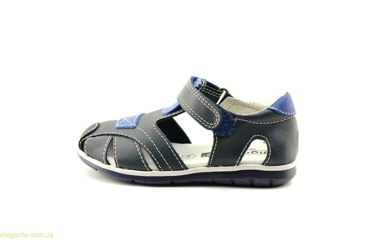 Дитячі сандалі на липучці DIGO DIGO сині 0