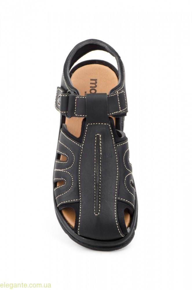 Мужские сандали MORXIVA BIO чёрные 0