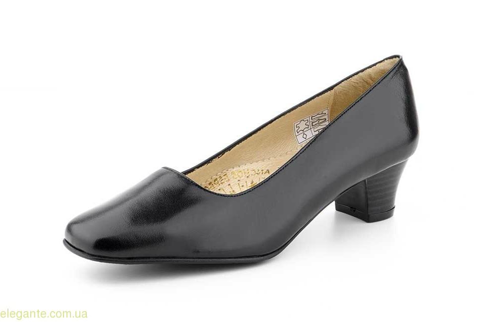 Женские туфли на каблуке  JAM4 чёрные 0
