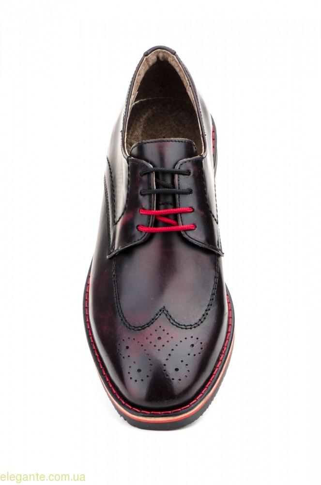 Мужские туфли PEPE AGULLO бордовые 0