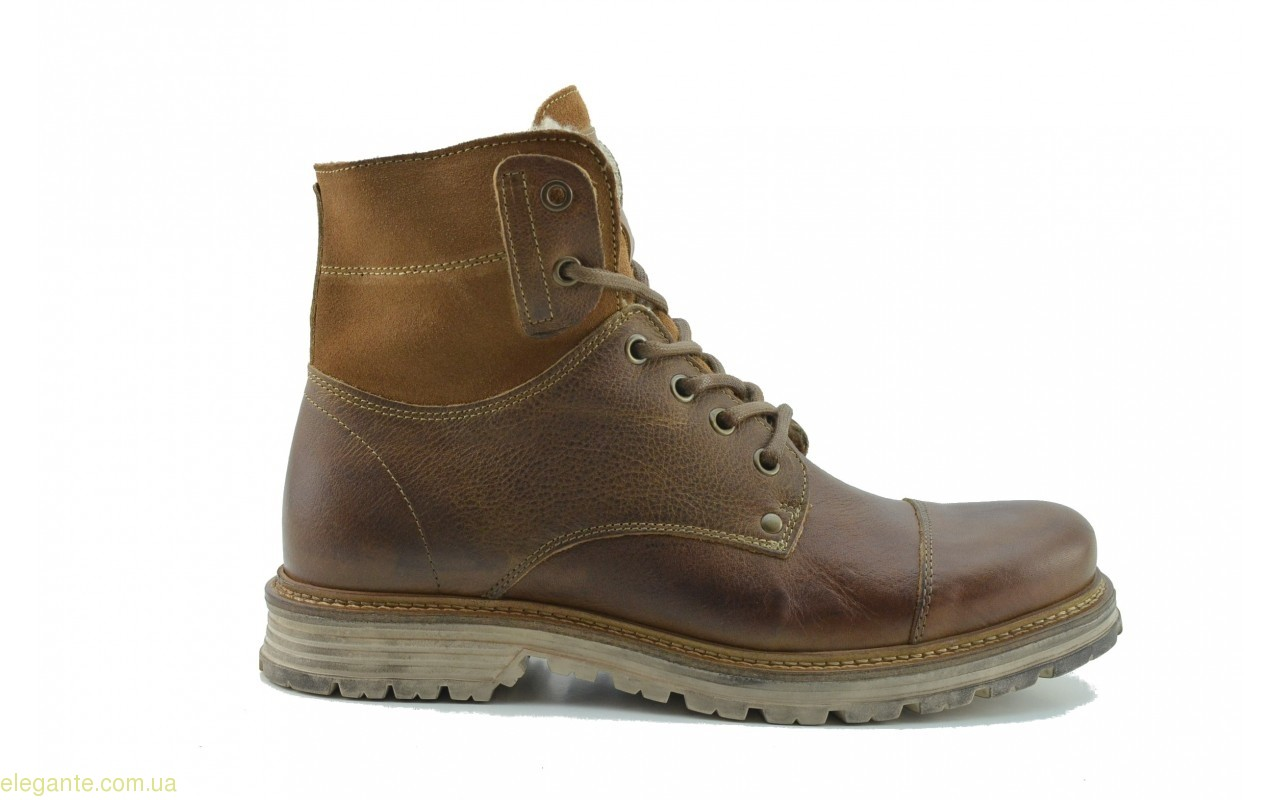 Мужские ботинки  Nautic Blue коричневые 0