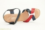 Женские босоножки JAM Tommy трехцветные 3