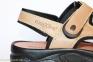 Мужские сандалии MORXIVA светло-коричневые 1
