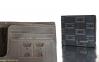 Мужской бумажник LIDU чёрный 1