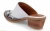 Женские шлепанцы в ковбойском стиле BDA на каблуке 3