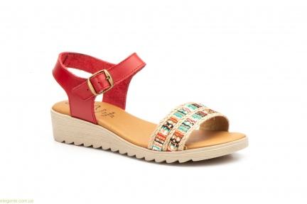Женские сандалии Jam Fantasia красные