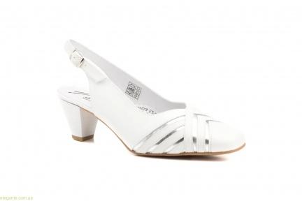 Жіночі туфлі JAM білі