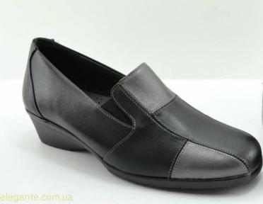 Жіночі туфлі на танкетці DIGO DIGO чорні