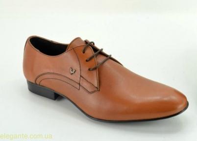 Мужские туфли дерби BECOOL коричневые