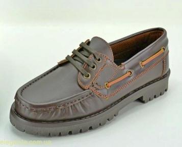 Мужские туфли CKAKOY коричневые