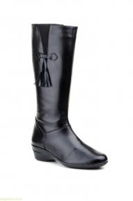 Жіночі чоботи JAM з пензликами чорні
