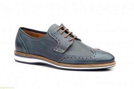 Чоловічі туфлі дербі KEELAN Ingles1 сині
