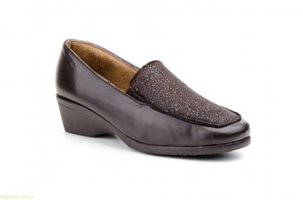 Женские туфли JAM Likra коричневые