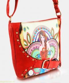 Женская сумочка JUVENIL красная
