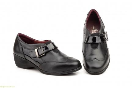 Женские туфли на танкетке ANNORA1 чёрные