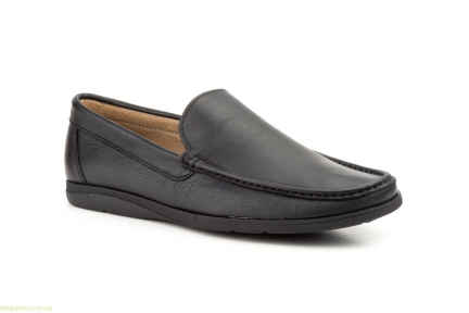 Мужские туфли мокасины NAUTIC JAM чёрные