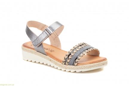 Жіночі сандалі Morxiva колір свинця