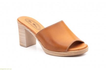 Жіночі шльопанці BIO Mar коричневі