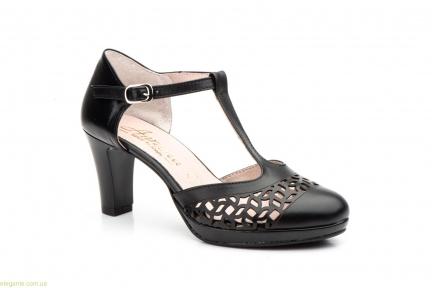 Женские туфли на каблуке ANNORA1 чёрные