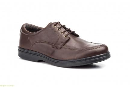 Мужские туфли SCN2 коричневые