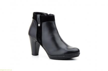 Женские ботинки AGATHA SHOES чёрные
