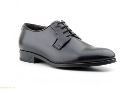 Чоловічі шкіряні туфлі Carlo Garelli чорні