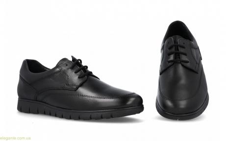 Мужские гибкие туфли  DJ SANTA чёрные