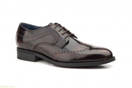 Мужские туфли дерби SCN3 коричневые