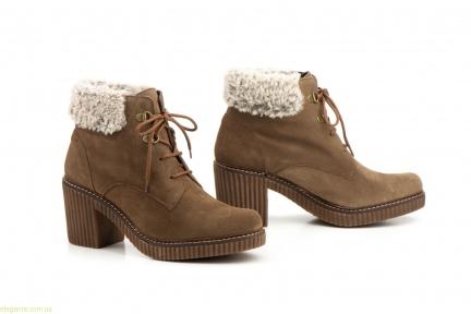 Жіночі черевики CASTOR коричневі
