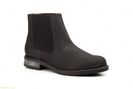 Мужские ботинки еластические SCN чёрные