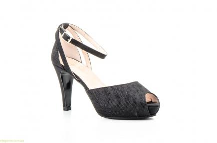 Женские туфли праздничные JENNIFER PALLARES чёрные