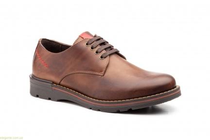 Чоловічі туфлі Nautic Blue1 коричневі
