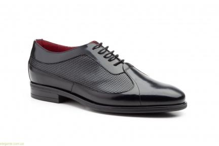 Чоловічі туфлі оксфорди Keelan чорні