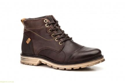 Мужские ботинки STYLE BLUE коричневые