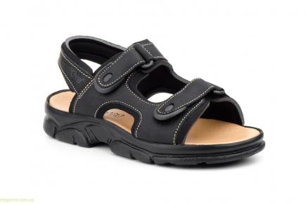 Мужские сандалии MORXIVA чёрные