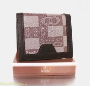 Мужской бумажник BODECI коричневый