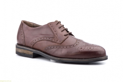 Мужские туфли SCN коричневые