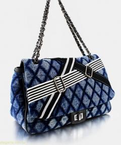 Женская сумочка на плечо JEANS синяя