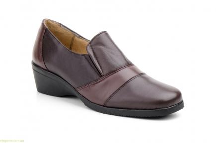 Жіночі туфлі еластичні JAM коричневі