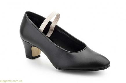 Дитячі танцювальні туфлі Carleti Sevillanas чорні