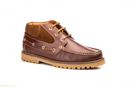 Мужские ботинки SCN коричневые
