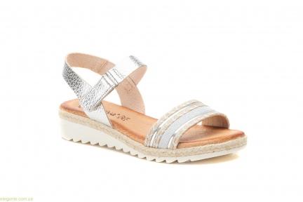 Жіночі сандалі Morxiva срібні