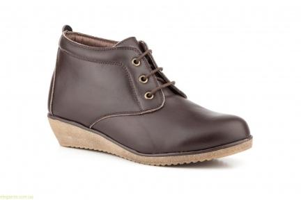 Женские ботинки  ALTO ESTILO коричневые