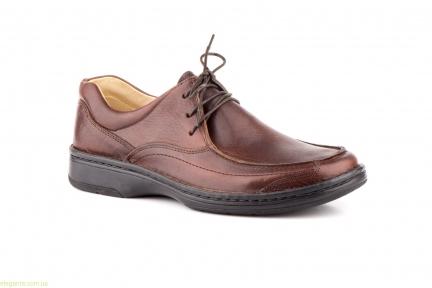Чоловічі туфлі SCN1 коричневі